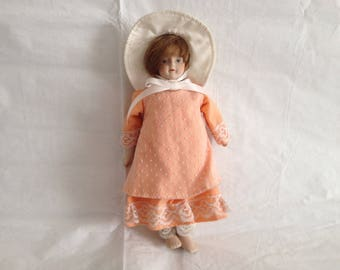 Gorham Bisque Doll ~ 1980s Made in Taiwan
