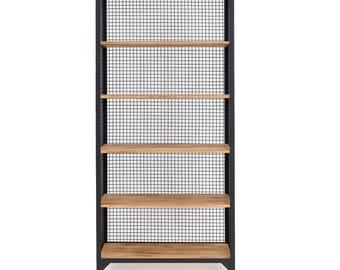 CLATRI shelf bookcase kitchen shelf black / Bookshelf shelving unit black