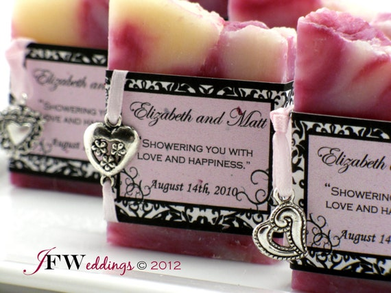 Homemade Wedding Shower Gifts: Items Similar To 50 Handmade VEGAN SOAP Favors