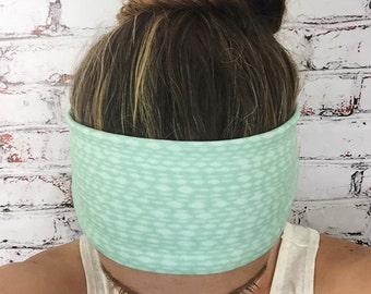 Mottled Mint - Eco Friendly Yoga Headband