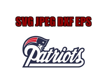 New England Patriots SVG File - Vector Design in, Svg, Eps, Dxf, and Jpeg Format for Cricut and Silhouette, Digital download !!!!!!!!!!!!!!!