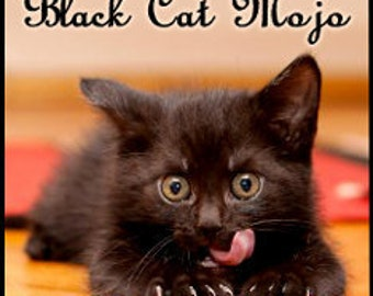 Jennifer's Black Cat Mojo - Concentrated. Perfume Oil - Love Potion Magickal Perfumerie - Private Edition