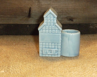 Vintage Grain Elevator Toothpick Holder