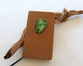 Kraft and Stone Small Journal, Small Lined Journal, Travel Journal, Pocket Journal, Mini Notebook