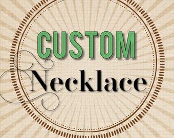 Custom Fancy Freedom Necklace