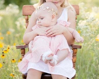 Girls Flower Crown, Floral Crown, Flower Crown, Baby Flower Crown, Adult Crown, Flower Girl Gift, Flower Girl Headband