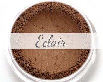 """Eyeshadow Sample - """"Eclair"""" - dark chocolate brown"""