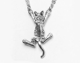 """Spoon Necklace: """"Cat"""" by Silver Spoon Jewelry"""