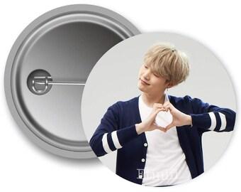 Suga BTS Bangtan Boys KPOP Pinback Button - #BTSS3