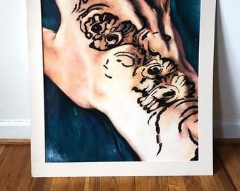 Henna Drawing- Limited Edition Print
