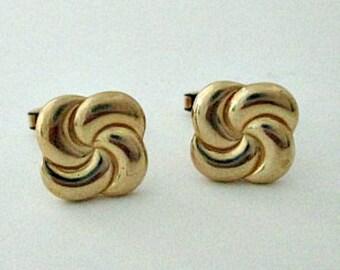 Vintage Hadley Pinwheel Cuff Links Cufflinks - Vintage Men's Jewelry Gift