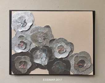 Flowers in the Snow Card 2017