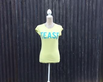 Vintage Tease cotton t-shirt