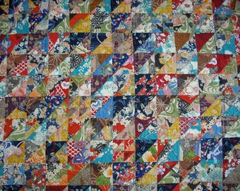 JAPANESE BEAUTY A patchwork quilt by Ann F Stonehouse