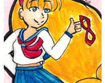 Sailor Venus Print