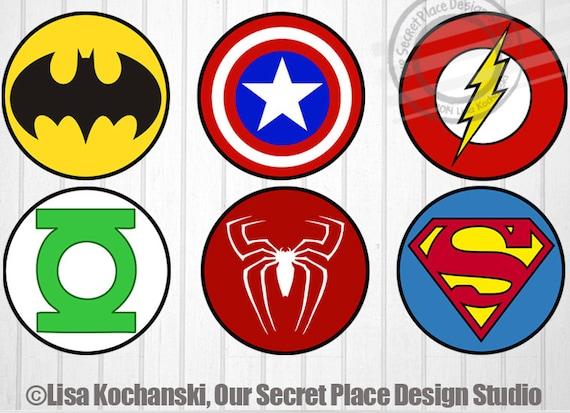 Printable Superhero Logos Selol Ink