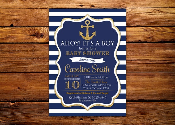 ahoy s its invitations au listing baby shower il it boy a invitation navy nautical