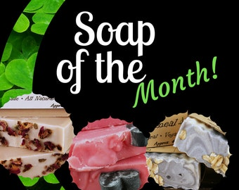 Soap Of The Month Club - Soap Subscription - Monthly Soap Box