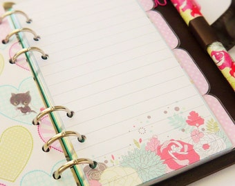 Personal Planner Note Paper Inserts