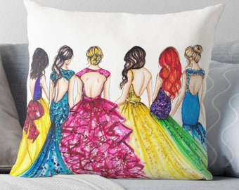 The Princess  (Pillow)
