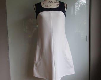 Final Sale! Leslie Fay Mini Dress 1960s Shift Mod Scooter Dress