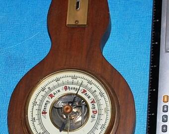 West German Banjo Black Forest Weather Instruments