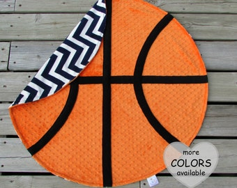 Basketball blanket etsy basketball blanket basketball gift baby blanket personalized gift sports nursery decor negle Choice Image