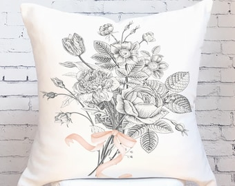 Fall Pillow Cover Fall Wildflower No. 2