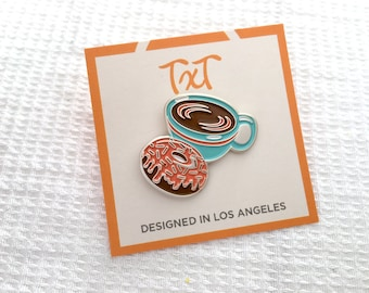 Coffee & Donut Pin