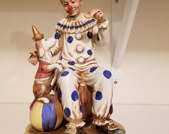 Royal Meridian Deutsche Noritake clown figurine