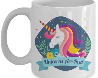 Unicorn Coffee Mug | Unicorn Mug | Gift For Men | Unicorn Lover | Unicorn Gift | Unicorn Lovely | Mother Of Unicorns | Unicorns Are Real