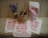Vintage Flour Bag - Engli...