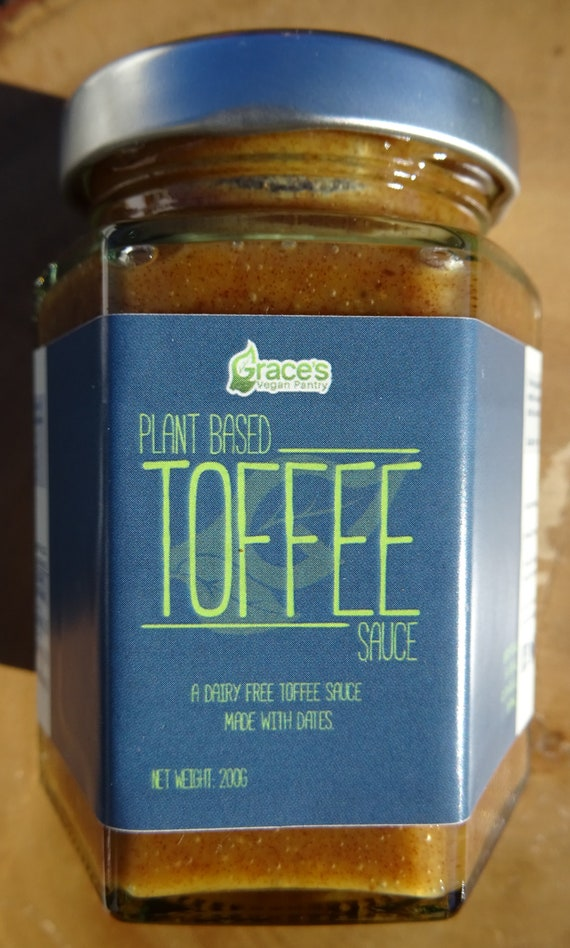 Vegan Toffee Sauce