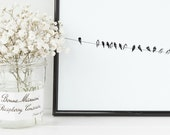 Birds on a Wire Print | 8...