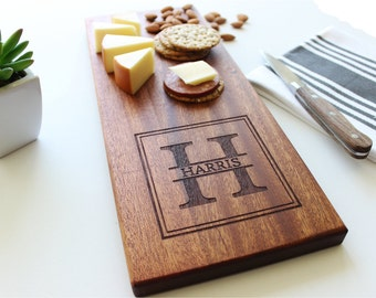 Personalized Cheese Board, Custom Name, Cutting Board, Christmas Gift, Wedding, Anniversary, Personalized Womens, Gift For Her, Husband Gift