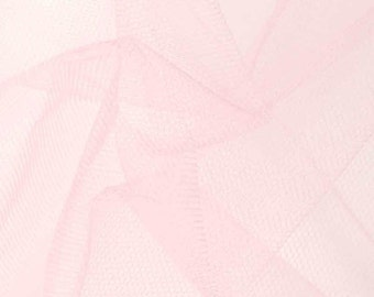 Tulle Netting Dress Fabric 140cm Wide 30 Colour Range - Orchid