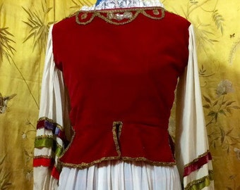 Antique ballet costume enssemble