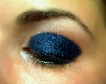 Majestic Blue - Dark Blue Eye Shadow - Natural - Mineral