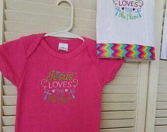 Onesies, burp rags or matching gift set
