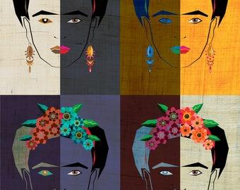 Frida 2 Art Print