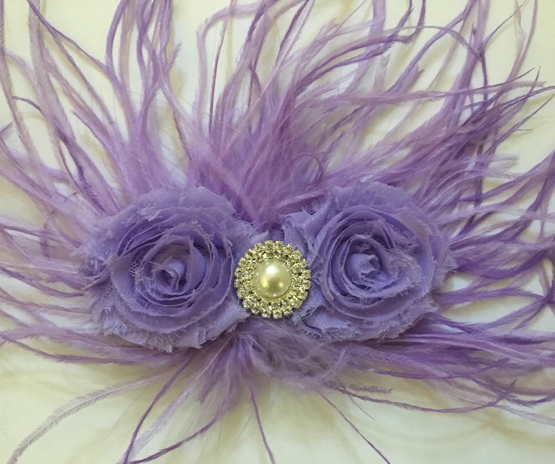 43ccfd896bbe Lavender Lilac Flower Clip