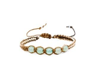 Green Aventurine Bracelet, Gemstone Bracelet, Friendship Bracelet, Yoga Bracelet, Chakra Bracelet, Heart Chakra Bracelet