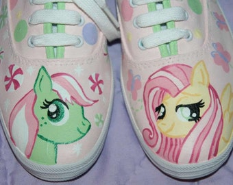 Girl's Custom Painted Keds MY LITTLE PONY Inspired Any Size