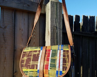 African print crossbody sling bag- Jade Collection