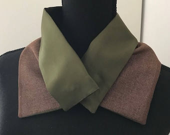Wool and silk  wrap