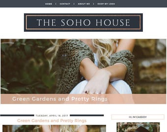 The SoHo House Blogger Template