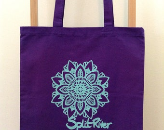 Split River Mandala - Reusable Shopping Bag