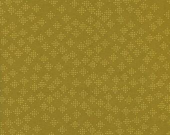 Cotton + Steel - Lagoon by Rashinda Coleman-Hale - Speckles Mustard - Modern Maker Box