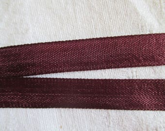 7.5 m Burgundy Ribbon, extra strong Burgundy and 1.3 cm in height