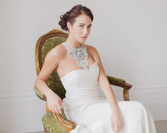 Bridal statement necklace - Style N03